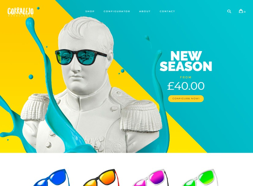 Corralejo - latest ecommerce templates