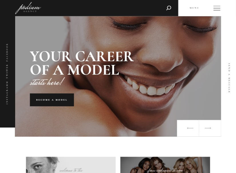 Podium - Beauty and Spa Wordpress Themes