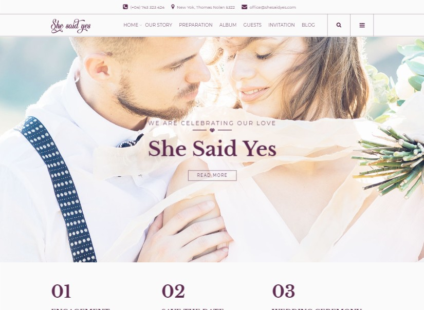 SheSaidYes - best wedding website examples