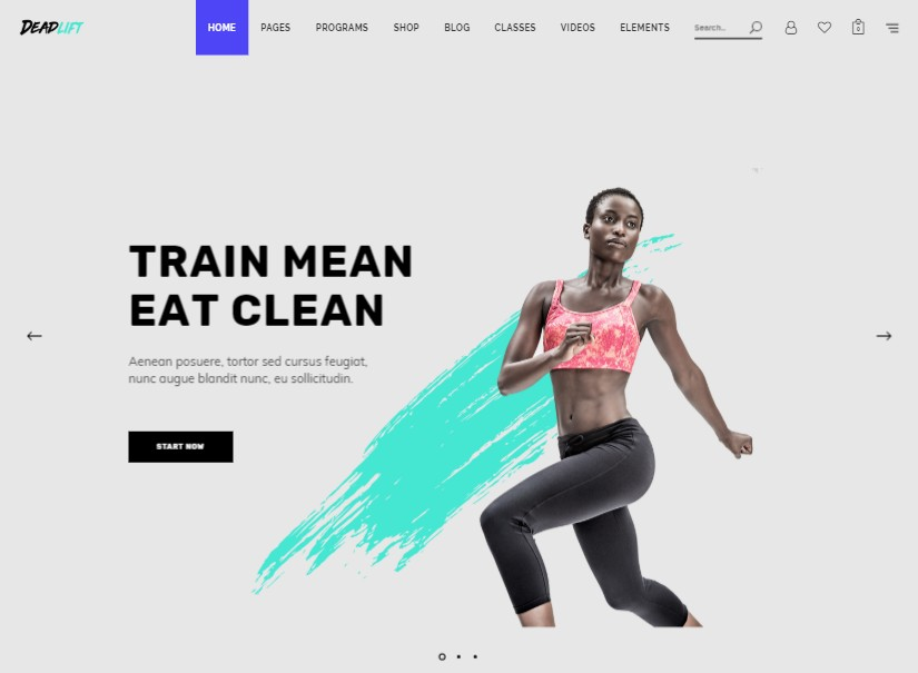 Deadlift - Latest Wordpress Themes
