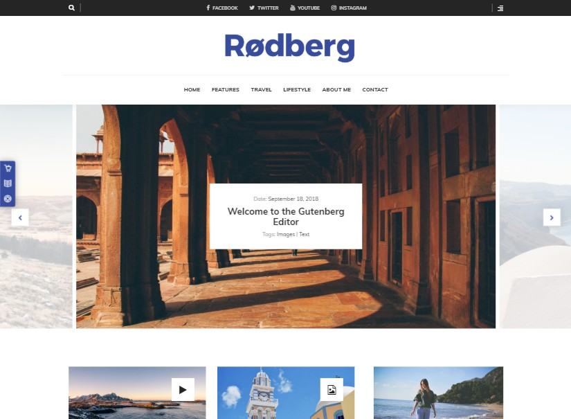 Rodberg - Latest Blog Themes
