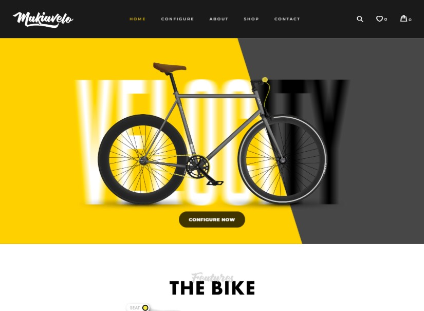 Bike - latest ecommerce wordpress theme