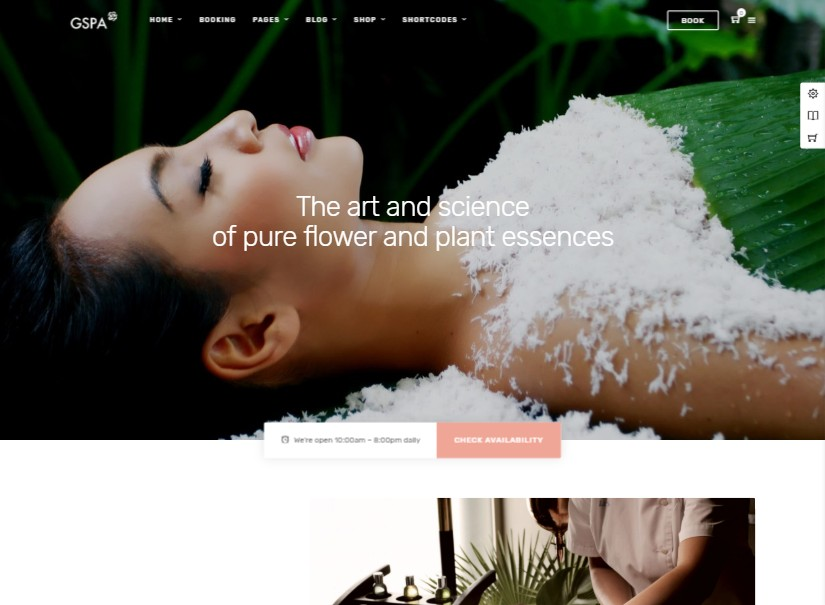 Grand Spa - latest beauty website templates