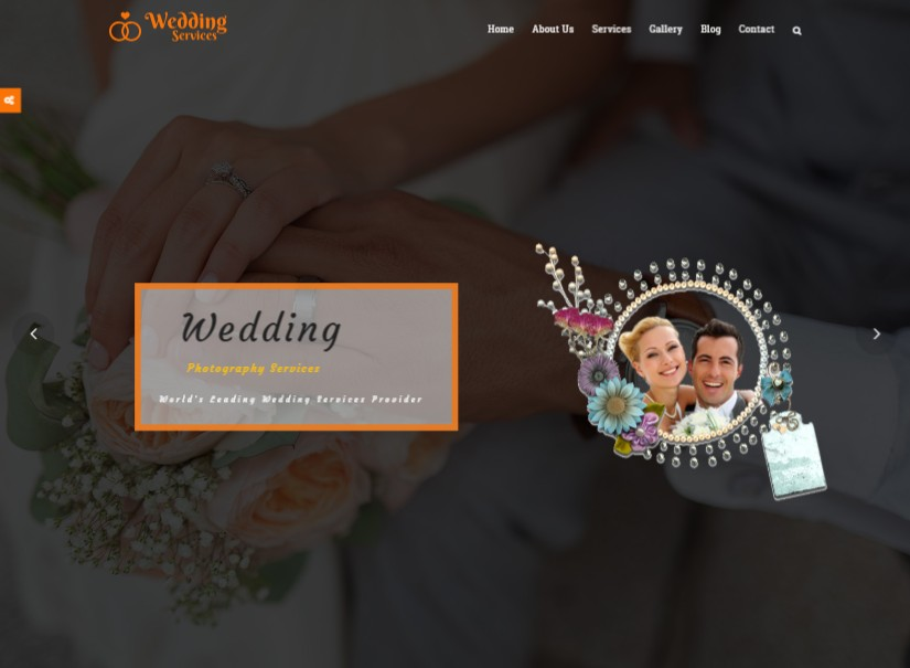 Wedding Services - best wedding website templates