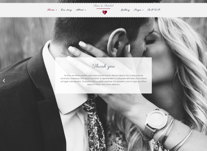 LovelyTime - best wedding website templates