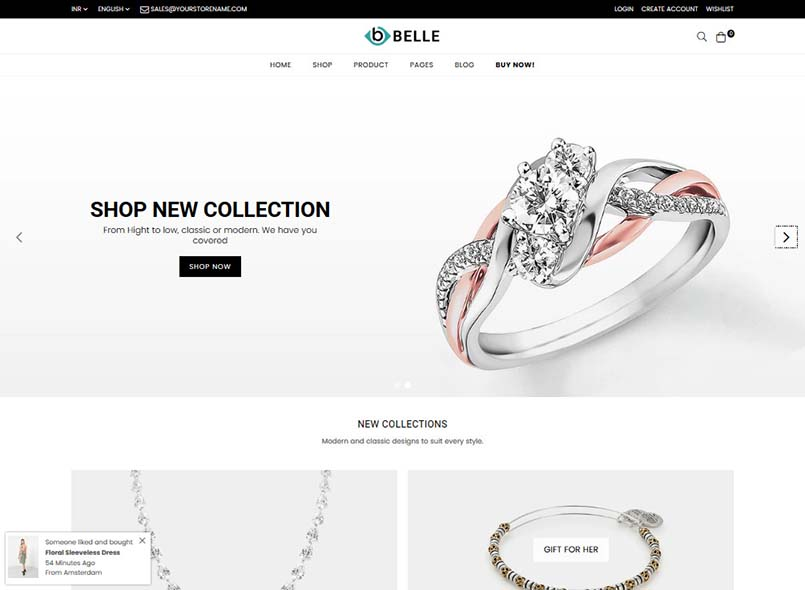 Belle - Multipurpose Shopify Theme