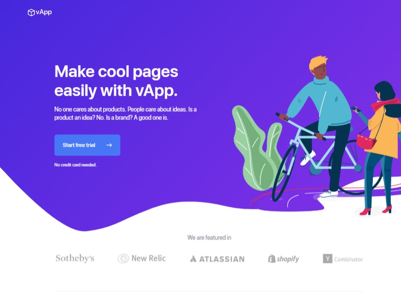vApp - best technology website templates