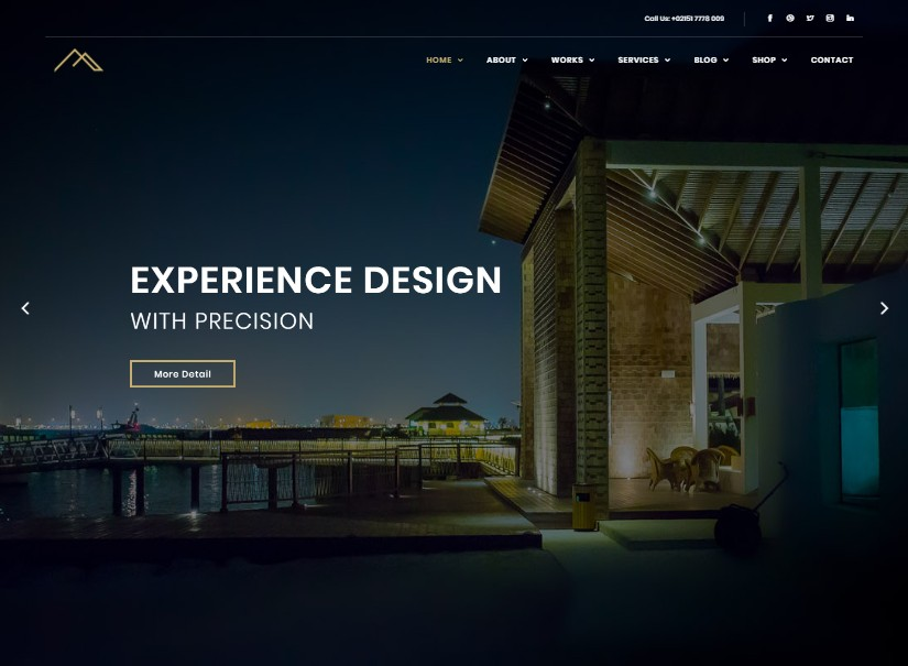 Artha - best corporate website themes