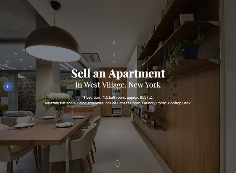 Murray - best real estate website theme