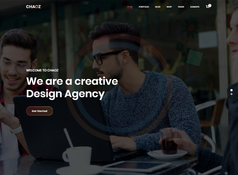 Chaoz - best technology website templates