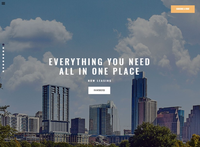 Skyview - latest real estate website theme