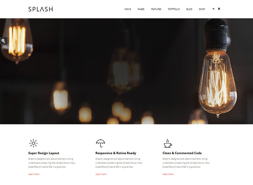 Splash - Multi-Purpose Bootstrap Drupal 8.7 Theme