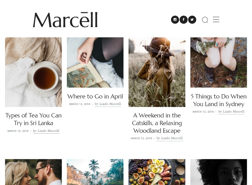 Marcell - Latest Wordpress Blog themes