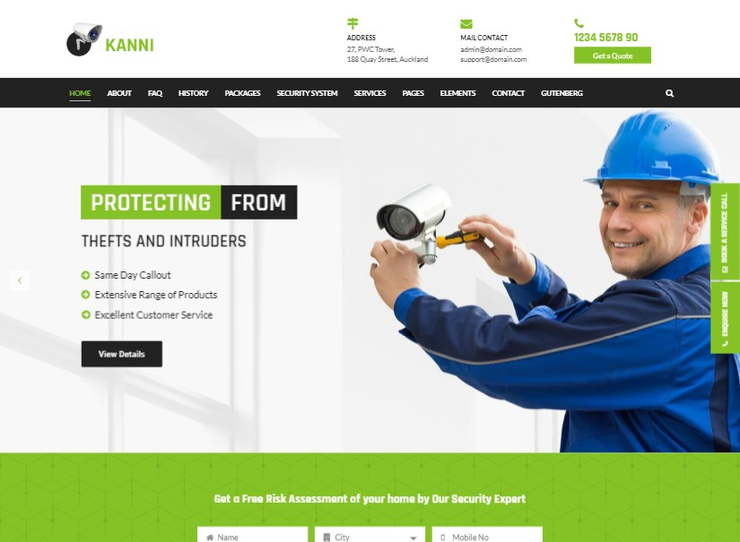 Kanni - best technology website templates