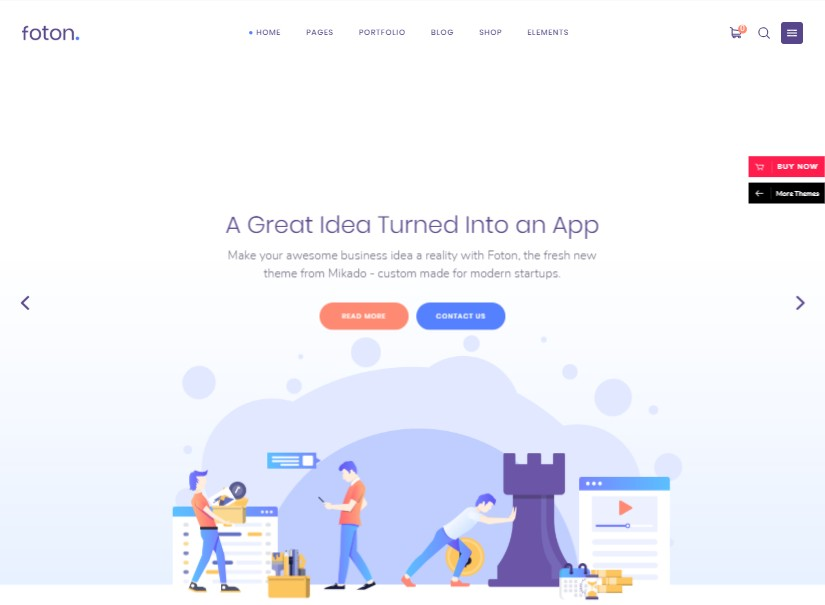 Foton - best technology website templates