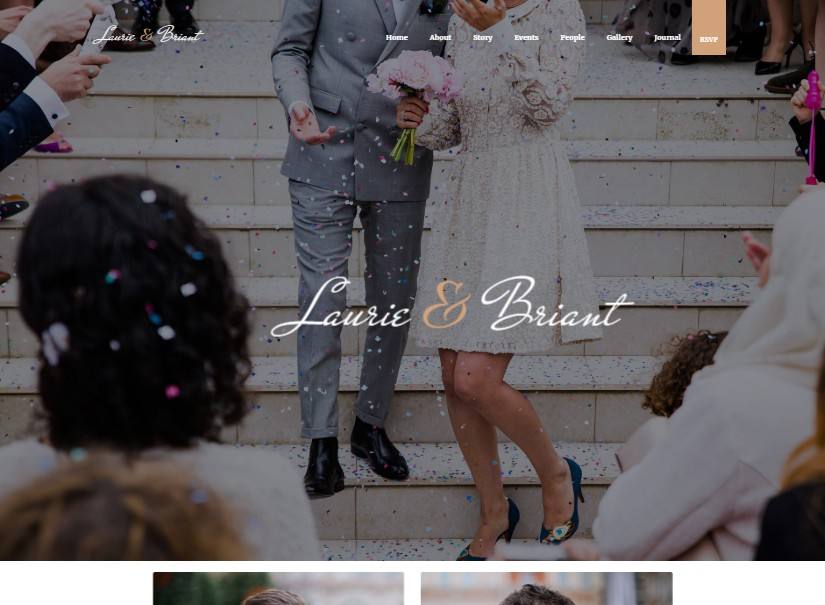 Lovus - best wedding website templates