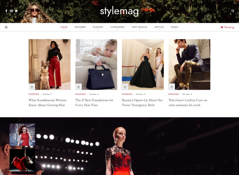 Stylemag - Latest Wordpress Blogs
