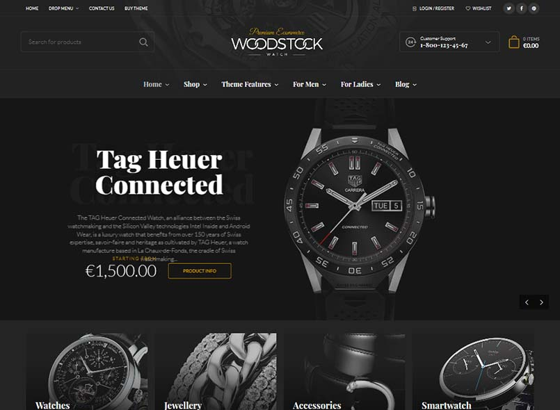 Woodstock - Electronics Store WooCommerce Theme