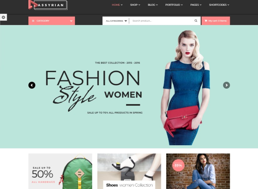 Assyrian - latest fashion website template