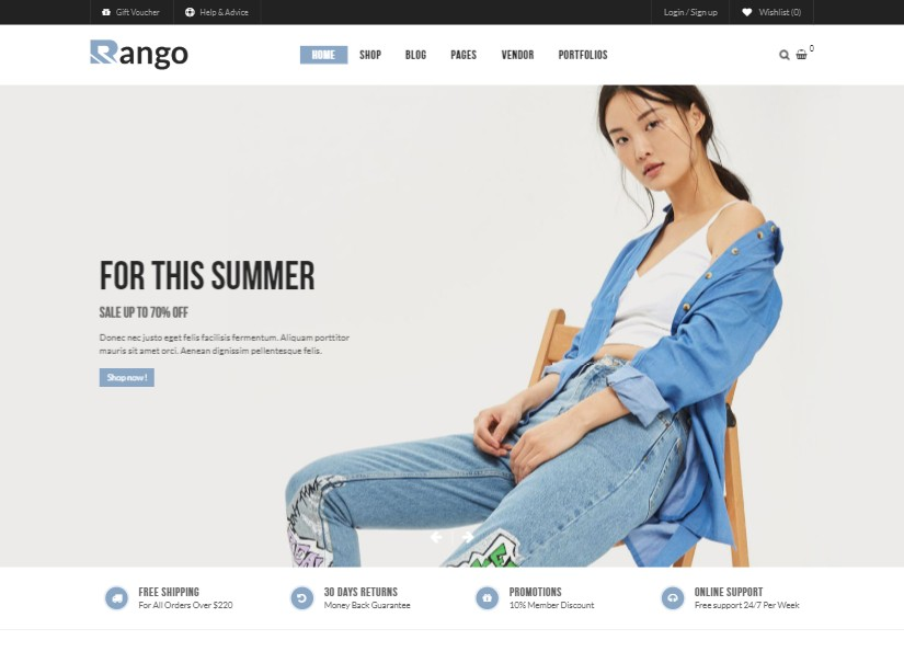 Top 20 Best Fashion Website Templates Design With Full Responsive 2019 Latest Layout