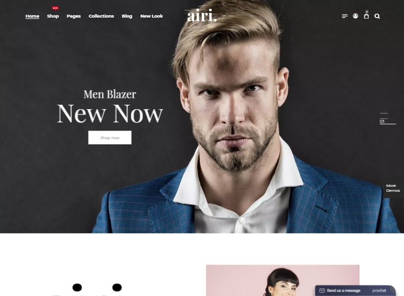 Airi - latest ecommerce website