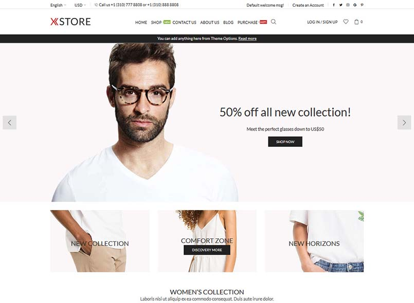 XStore - Unlimited Multipurpose Magento 2 & 1 Theme