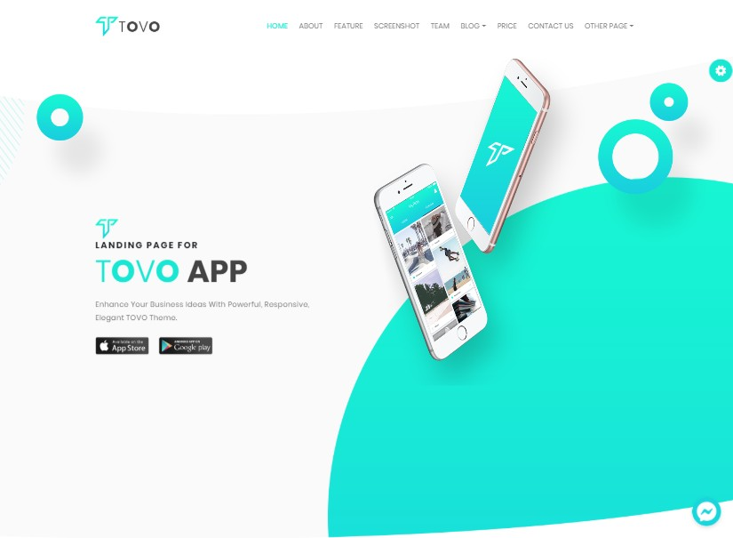 Tovo - Latest angular material template