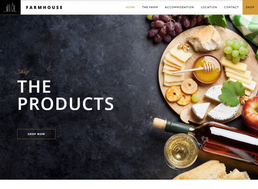 Farmhouse - latest agriculture website template
